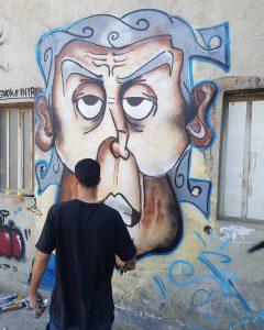 graffiti iran