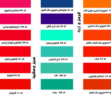 کد ۵۲ تا ۶۱، اسپری رنگ سبز