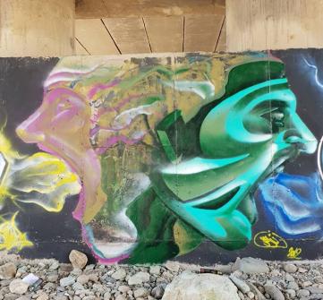 همایش گرافتی کارهای در شهر قشنگ نور